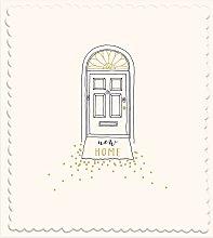 Woodmansterne Front Door New Home Card