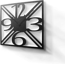 Woodside Silent Wall Clock Borough Wharf