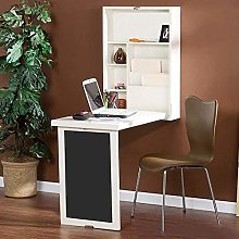 Woodtree Wall Mounted Drop-Leaf Table, Folding