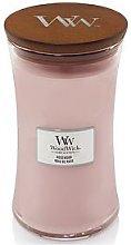 Woodwick  Large Hourglass Candle &Ndash; Rosewood
