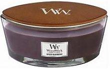 Woodwick Ww Ellipse Candle Jar - Spiced Blackberry