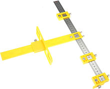 Woodworking Adjustable Yellow Drill Guide Tool -