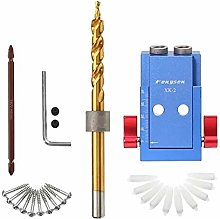 Woodworking Drilling Hole Jig Set Woodwork Guide