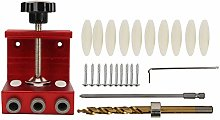 Woodworking Punch Tool, Pocket Hole Drill Guide