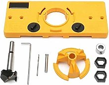 Woodworking Tools 35mm Hinge Hole Saw Jig Drilling