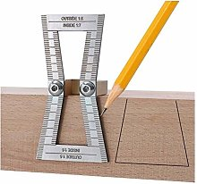 Woodworking Tools Dovetail Marker Tool with Scale
