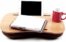 Woolala Wooden Lap Desk with Soft Cushion Laptop