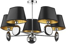 Wooler 5-Light Chandelier Canora Grey