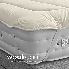 WOOLROOM SUPERKING W180cm x L200cm DELUXE Natural