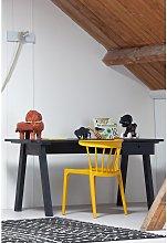 Woood Sammie 1 Drawer Desk - Grey