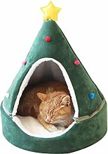Wopohy Christmas Tree Cat House, Cat Furniture