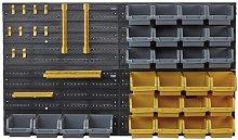 Work Expert 46-Piece Diy Tool Storage Bin And