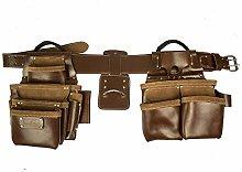 Work Gear UK 11 Pocket Jumbo Tool Belt Set with a