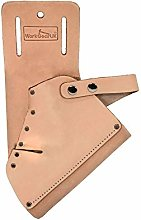 Work Gear UK Drill Holster in top Grain Leather in