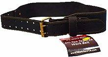 Work Gear UK Leather Belt in Heavy Duty Top Grain