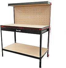 Workbench Steel Work Bench Garage Tool Box Storage