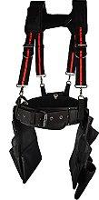 WorkGearUk Tool Belt 15 Pocket with Suspenders