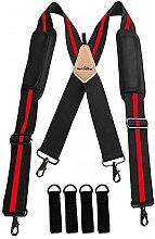 WorkGearUK Tool Belt Work Suspenders WG-HDB12