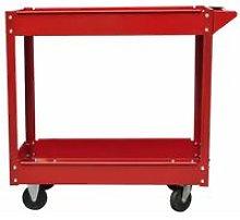 Workshop Tool Trolley 100 kg Red QAH03447
