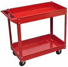 Workshop Tool Trolley 100 kg Red