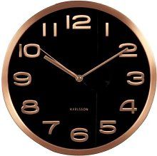 World Class 29cm Maxie Wall Clock Karlsson Colour: