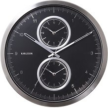 World Class 50cm Wall Clock Karlsson