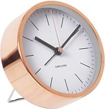 World Class Table Clock Karlsson Colour: White
