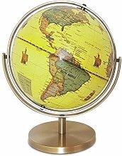 World Globe World Map Universal Rotating