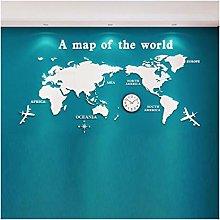 World map Wall Sticker 3D Stereo Acrylic Creative