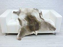 World of Sheepskins Genuine Reindeer Hide Rug Real