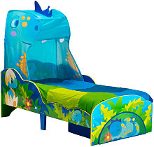 Worlds Apart Toddler Bed with Drawer Dinosaurs