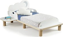 Worlds Apart Toddler Bed with Night Light Star