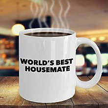 Worlds Best Housemate Coffee Mug Funny Apartment