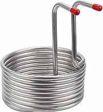 Wort Chiller, Beer Cooling Coil, Stainless Steel