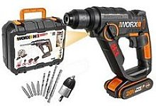 Worx Corded H3 3-In-1 Rotary Drill Wx390 20Volts