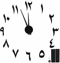 Wosune Acrylic Clock, Wall Clock, Large-Size