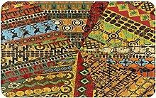 WOTAKA carpet bath mat,rug,Grunge Collage With