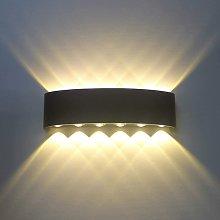 Wottes - 12W Waterproof modern indoor wall light,