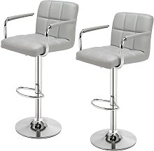 Wottes - 2 pcs bar stool kitchen breakfast chair