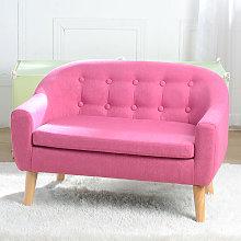 Wottes - Children's double fabric sofa