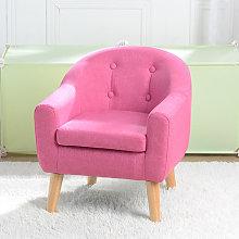 Wottes - Children's single fabric sofa
