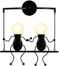 Wottes - Modern LED wall light cartoon villain