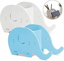 WOVELOT 2 Pieces Elephant Shape Desk Pencil Pen