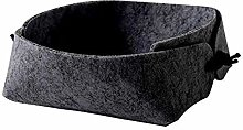 WOVELOT Felt Storage Box Desktop Tray Fruit Bowl