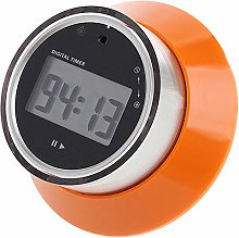 WOVELOT Lcd Digital Kitchen Timer Portable Round