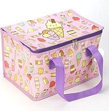 Woven Cool Bag Lunch Box - Kawaiice Ice Cream