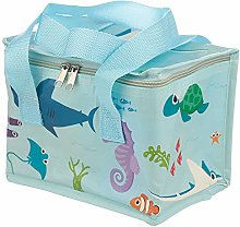 Woven Cool Bag Lunch Box - Sealife