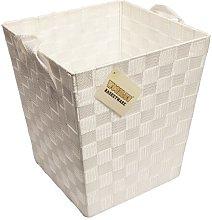Woven Waste Paper Bin Woodluv