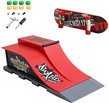 WOWOWO Skate Park Ramp Parts for Tech Deck