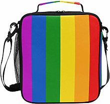 WowPrint Insulated Lunch Bag Rainbow Gay Pride